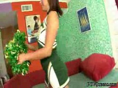 Blowjob Cheerleader