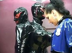 rubber woman