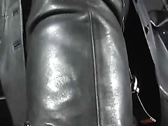 leather interracial