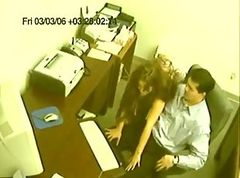 fucked in the office