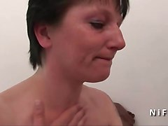Amateur Anal Casting French Milf