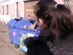 czech girl in pickup public holly
