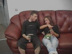 drunk wife with girl