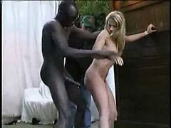black first time anal