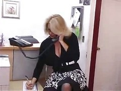 Bus Office Secretary Mature