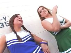 cheerleader&creampie
