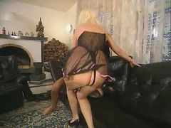 mature anal in heels