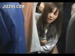 Asian Bus Japanese Creampie