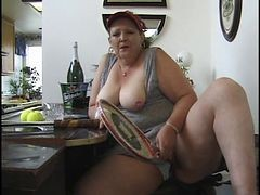 old fat creampie