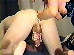 prostate massage with blowjob