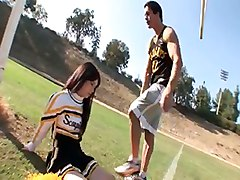cheerleader behind the scenes