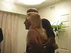 gangbanged in front of hubby