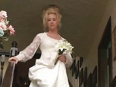 hememade bride anal surprise