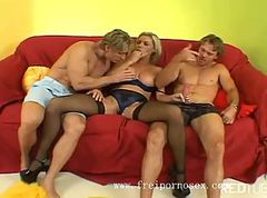 Blonde Group Teen